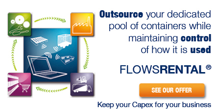 Outsource your dedicated pool of containers while maintaining control of how it is used with FLOWRENTAL