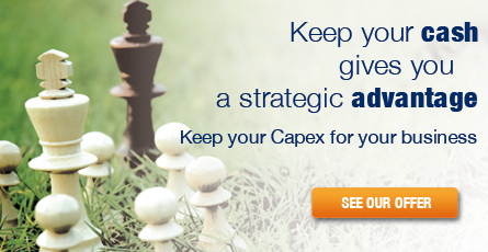 Keep your cash gives you a strategic advantage, KEEP YOUR CAPEX FOR YOUR BUSINESS